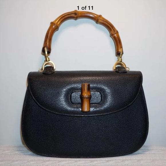 04c248c3fce Gucci Handbags - Authentic vintage Gucci bamboo handle handbag